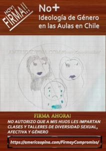 Apoderados no quieren ideología de género para sus hijos e hijas en Chile