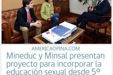 Mineduc y Minsal, 5° quinto básico educación sexual será obligatorio por ley