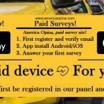 Top ten best paid surveys App