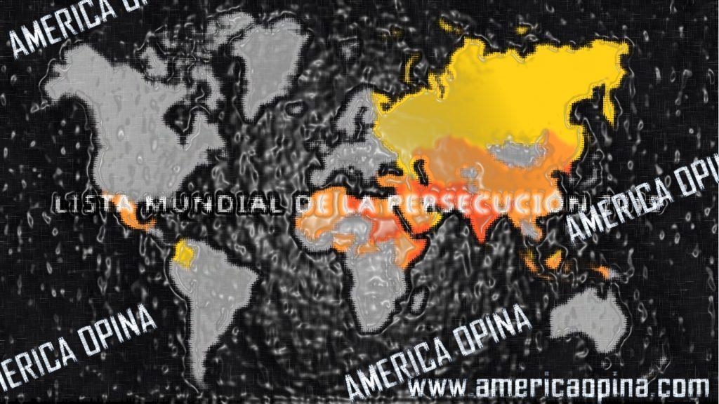 Mapa de zonas más peligrosas para los cristianos 2019 y 2020